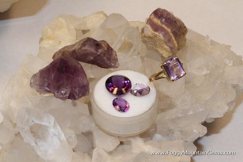 Gemstones Identification at Foggy Mountain Gem Mine in Boone NC
