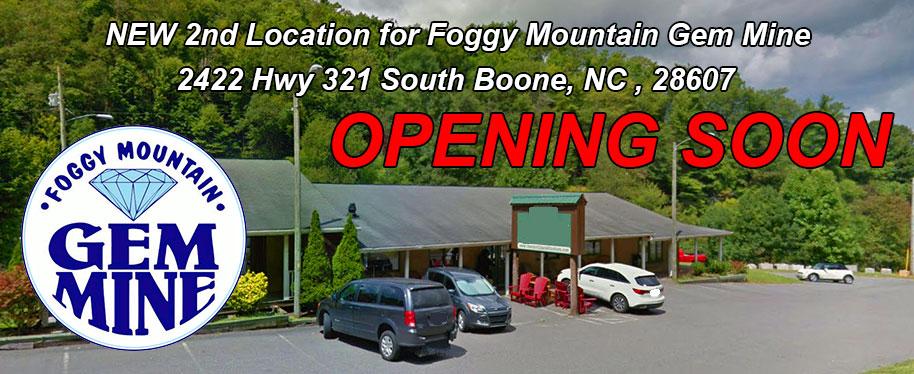 Foggy Mountain Gem Mine - 828-963-4367 - Boone NC Attraction